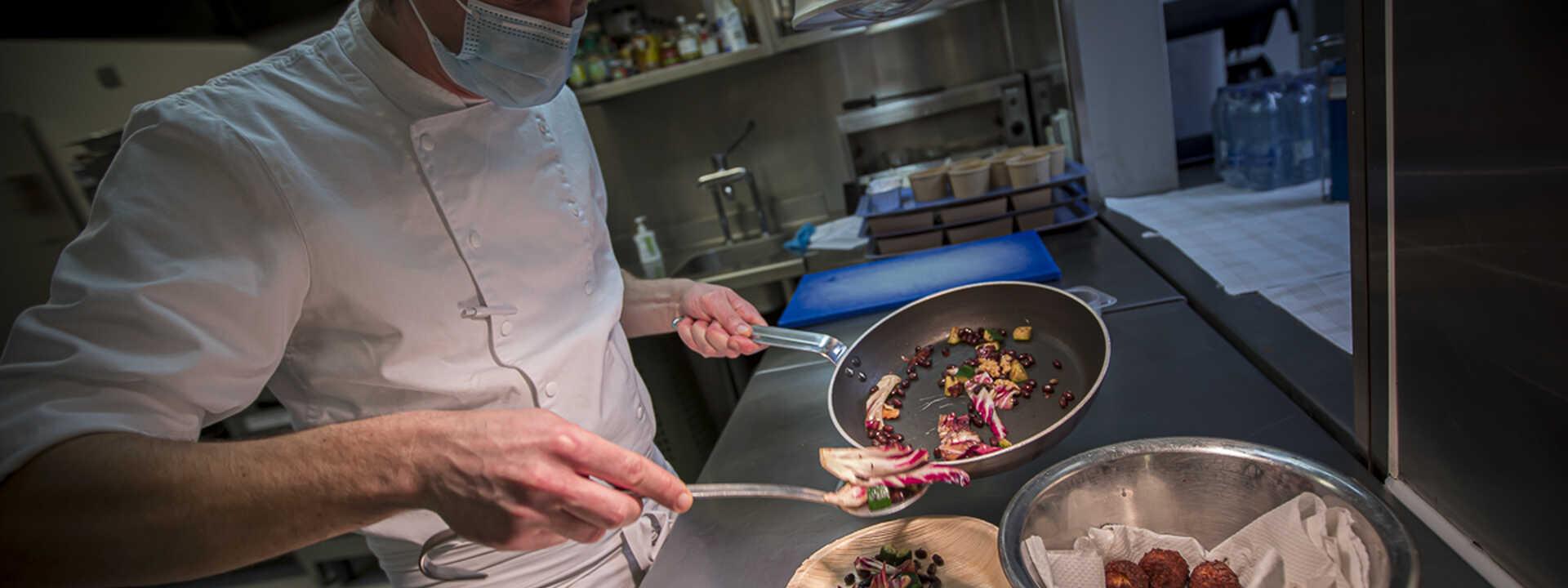 """""""De vrijheid van onze koks, die proef je in hun gerechten"""""""