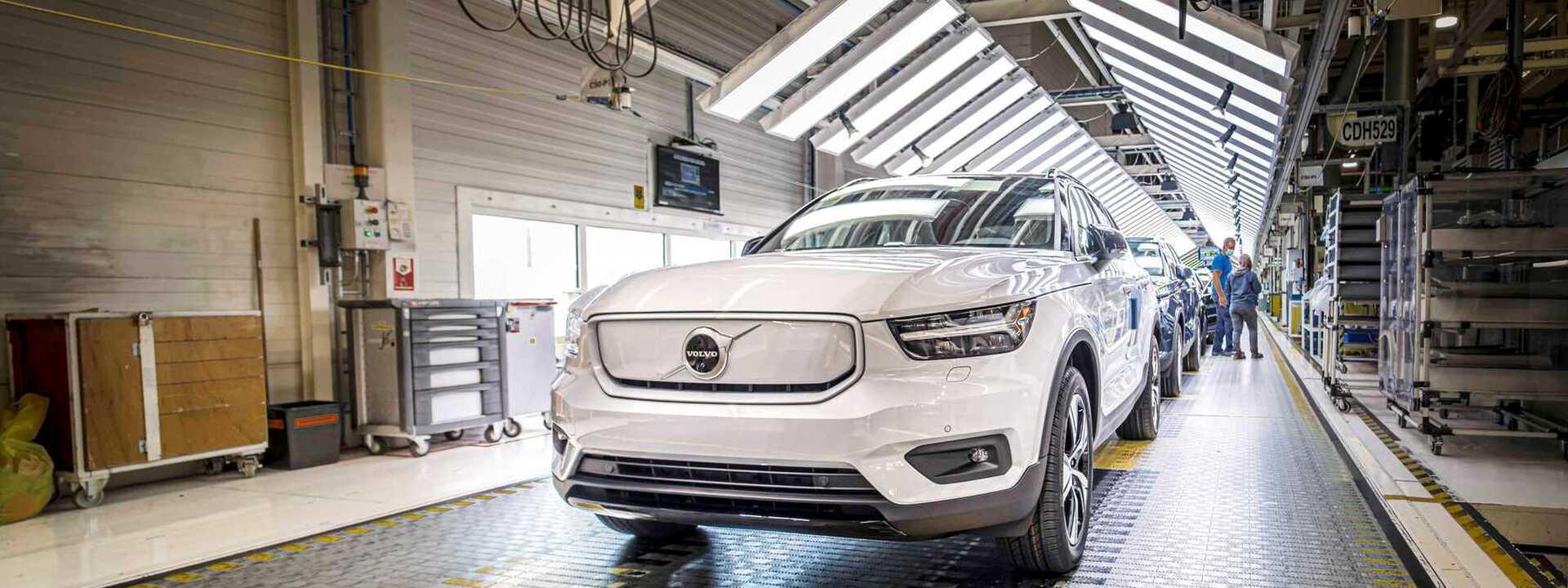 Volvo Cars gaat capaciteit voor elektrische wagens in Gent verdrievoudigen en produceert nieuw elektrisch model