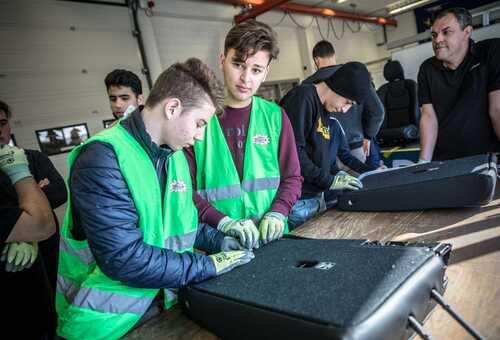Jongeren maken kennis met uitdagingen van technische beroepen