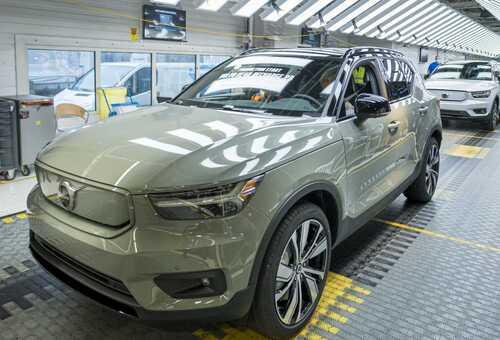 Volvo Car Gent start productie volledig elektrische XC40 Recharge